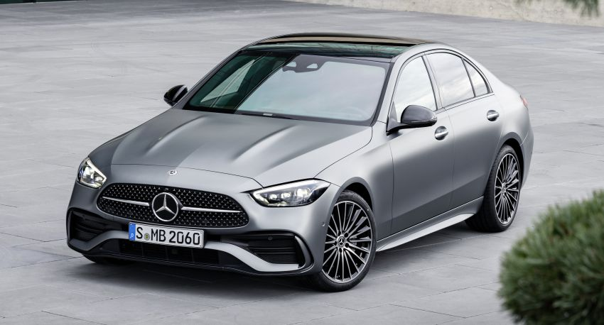 2022 W206 Mercedes-Benz C-Class debuts – tech from S-Class, MBUX, PHEV with 100 km all-electric range Image #1252682