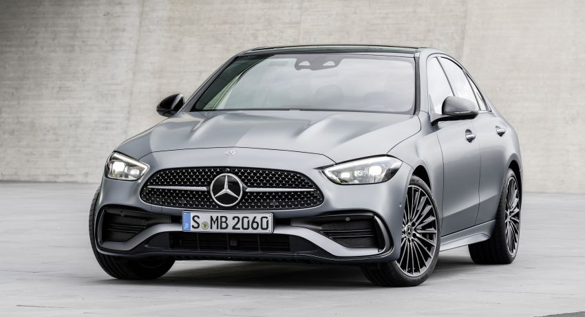 2022 W206 Mercedes-Benz C-Class debuts – tech from S-Class, MBUX, PHEV with 100 km all-electric range Image #1252683