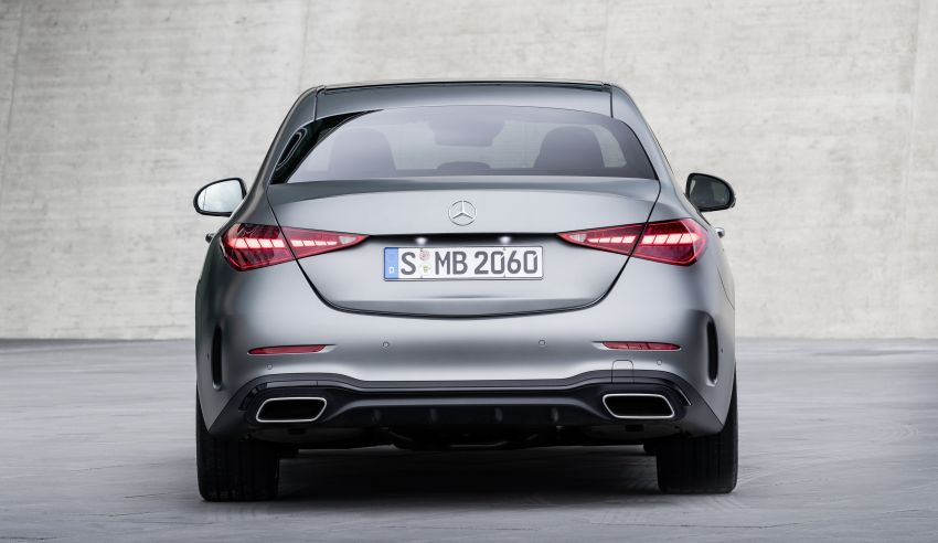 2022 W206 Mercedes-Benz C-Class debuts – tech from S-Class, MBUX, PHEV with 100 km all-electric range Image #1252684