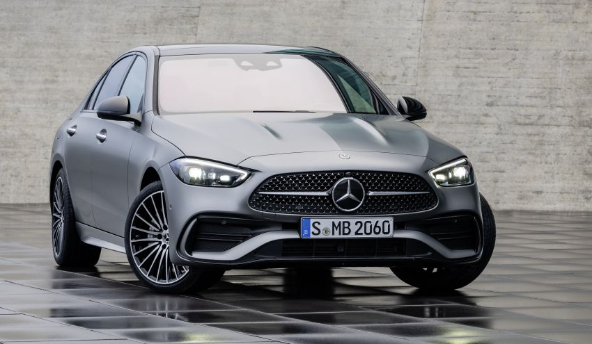 2022 W206 Mercedes-Benz C-Class debuts – tech from S-Class, MBUX, PHEV with 100 km all-electric range Image #1252686