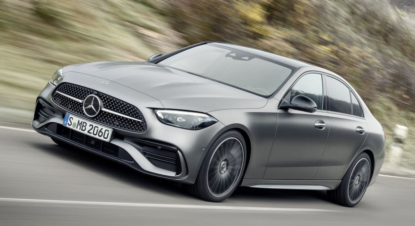 2022 W206 Mercedes-Benz C-Class debuts – tech from S-Class, MBUX, PHEV with 100 km all-electric range Image #1252669