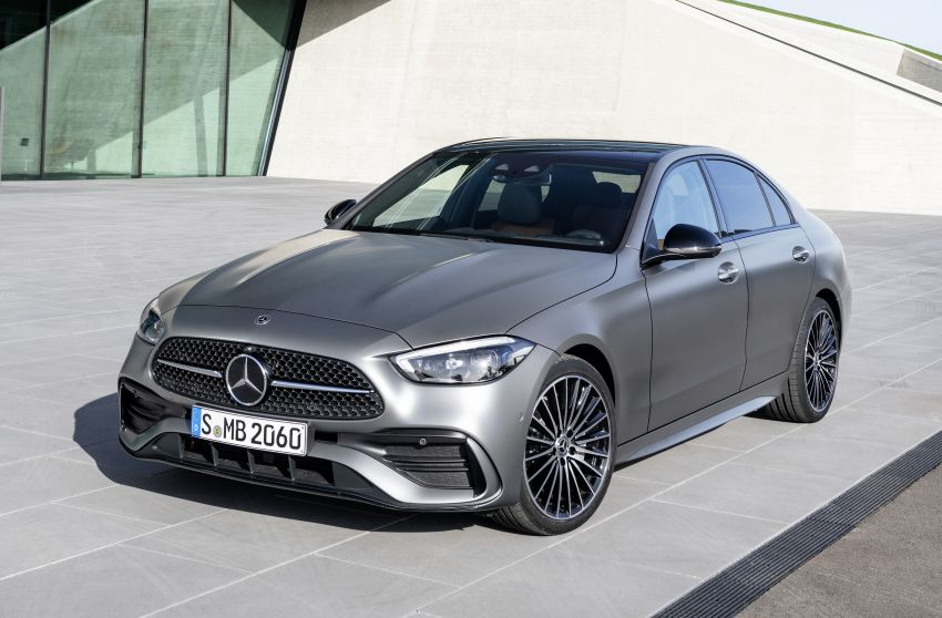 2022 W206 Mercedes-Benz C-Class debuts – tech from S-Class, MBUX, PHEV with 100 km all-electric range Image #1252687