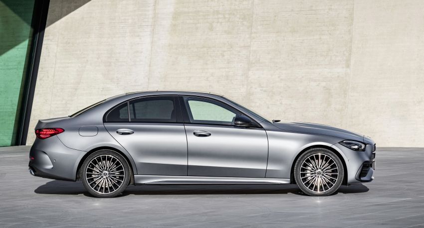 2022 W206 Mercedes-Benz C-Class debuts – tech from S-Class, MBUX, PHEV with 100 km all-electric range Image #1252688
