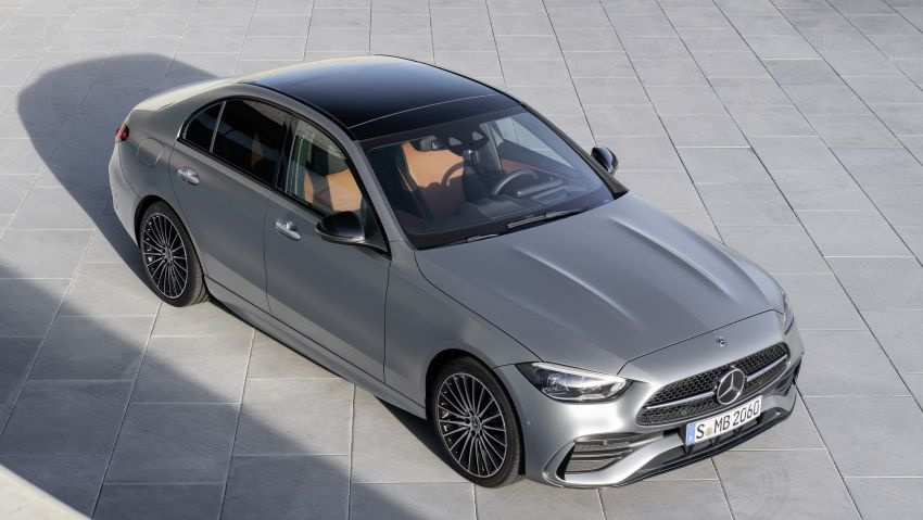 2022 W206 Mercedes-Benz C-Class debuts – tech from S-Class, MBUX, PHEV with 100 km all-electric range Image #1252689