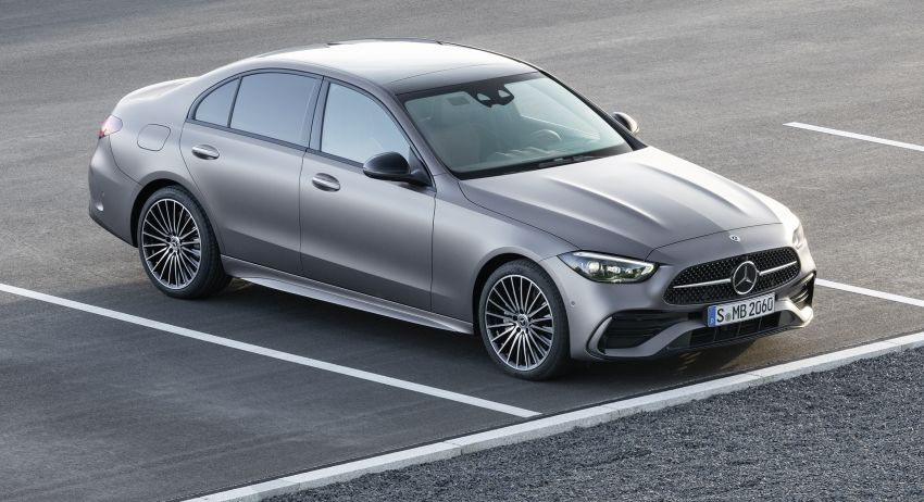 2022 W206 Mercedes-Benz C-Class debuts – tech from S-Class, MBUX, PHEV with 100 km all-electric range Image #1252690