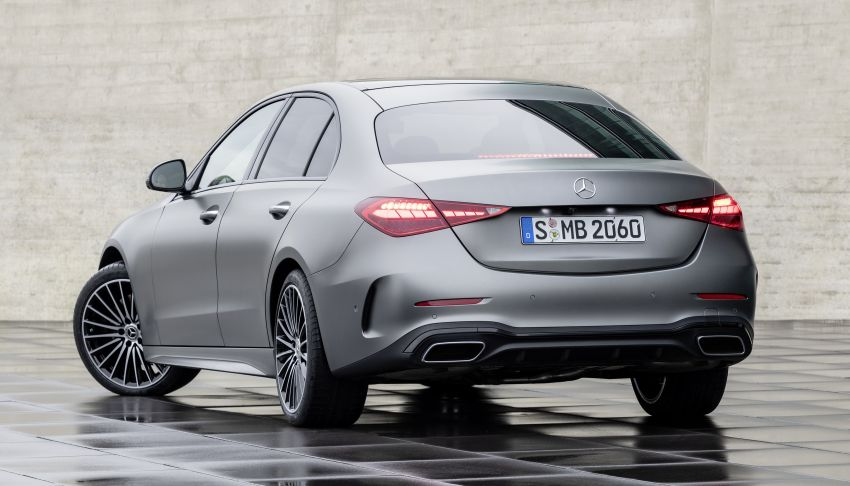 2022 W206 Mercedes-Benz C-Class debuts – tech from S-Class, MBUX, PHEV with 100 km all-electric range Image #1252691