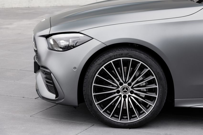 2022 W206 Mercedes-Benz C-Class debuts – tech from S-Class, MBUX, PHEV with 100 km all-electric range Image #1252695
