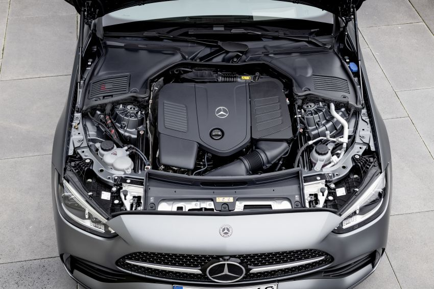 2022 W206 Mercedes-Benz C-Class debuts – tech from S-Class, MBUX, PHEV with 100 km all-electric range Image #1252696