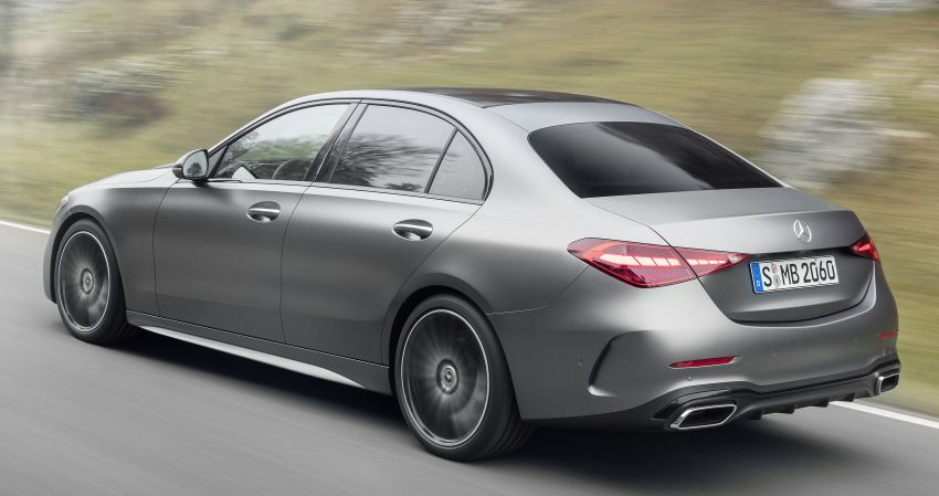2022 W206 Mercedes-Benz C-Class debuts – tech from S-Class, MBUX, PHEV with 100 km all-electric range Image #1252670