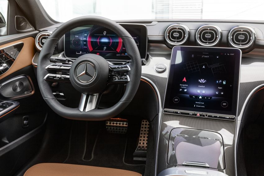 2022 W206 Mercedes-Benz C-Class debuts – tech from S-Class, MBUX, PHEV with 100 km all-electric range Image #1252701