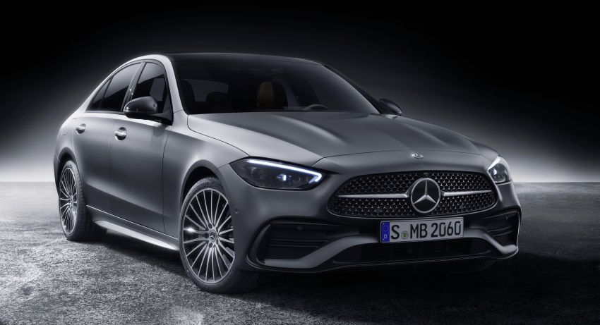 2022 W206 Mercedes-Benz C-Class debuts – tech from S-Class, MBUX, PHEV with 100 km all-electric range Image #1252702