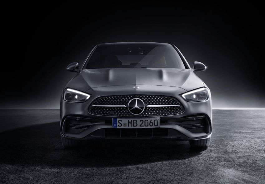 2022 W206 Mercedes-Benz C-Class debuts – tech from S-Class, MBUX, PHEV with 100 km all-electric range Image #1252705