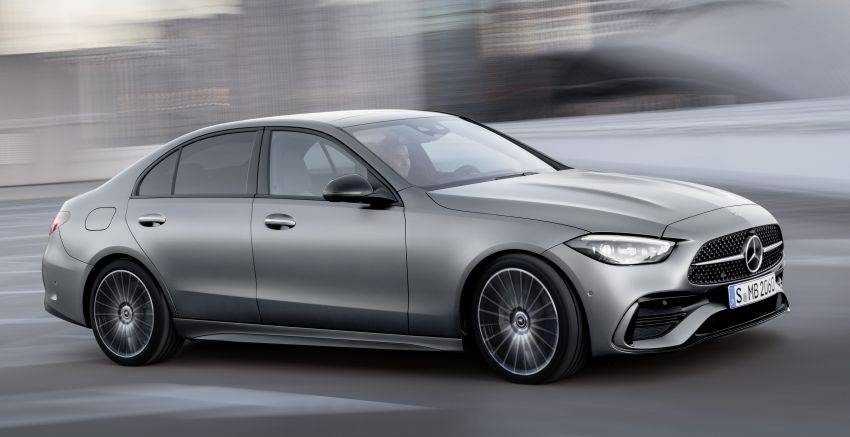 2022 W206 Mercedes-Benz C-Class debuts – tech from S-Class, MBUX, PHEV with 100 km all-electric range Image #1252671