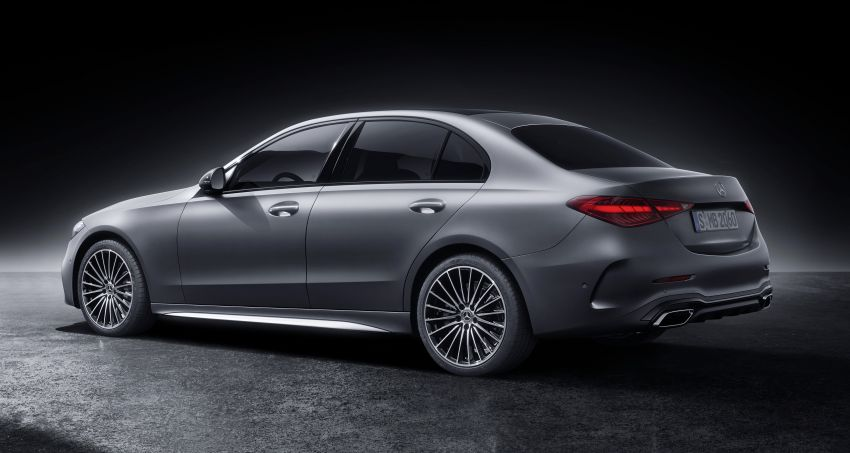 2022 W206 Mercedes-Benz C-Class debuts – tech from S-Class, MBUX, PHEV with 100 km all-electric range Image #1252707