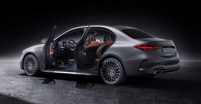 2022 W206 Mercedes-Benz C-Class debuts – tech from S-Class, MBUX, PHEV with 100 km all-electric range Image #1252708