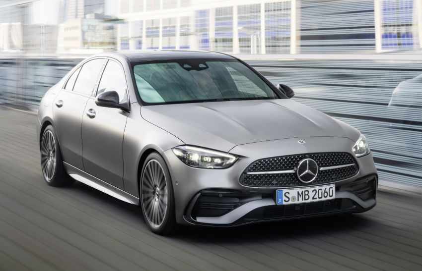 2022 W206 Mercedes-Benz C-Class debuts – tech from S-Class, MBUX, PHEV with 100 km all-electric range Image #1252672
