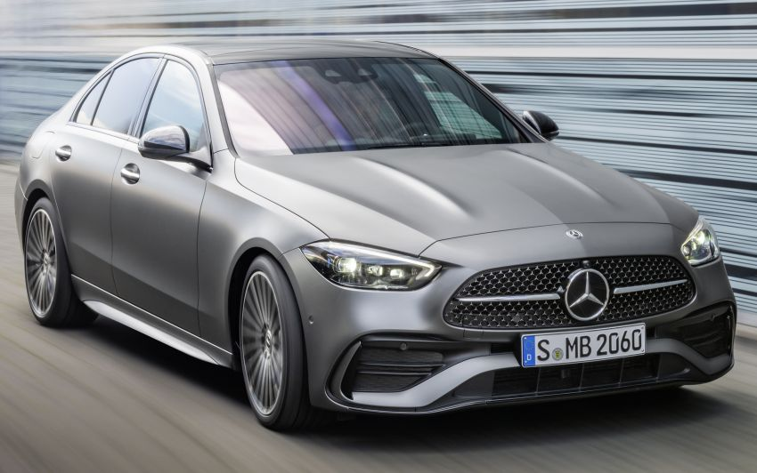 2022 W206 Mercedes-Benz C-Class debuts – tech from S-Class, MBUX, PHEV with 100 km all-electric range Image #1252673