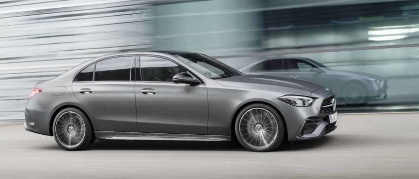 2022 W206 Mercedes-Benz C-Class debuts – tech from S-Class, MBUX, PHEV with 100 km all-electric range Image #1252675