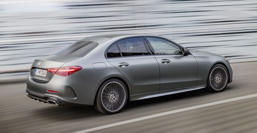 2022 W206 Mercedes-Benz C-Class debuts – tech from S-Class, MBUX, PHEV with 100 km all-electric range Image #1252676
