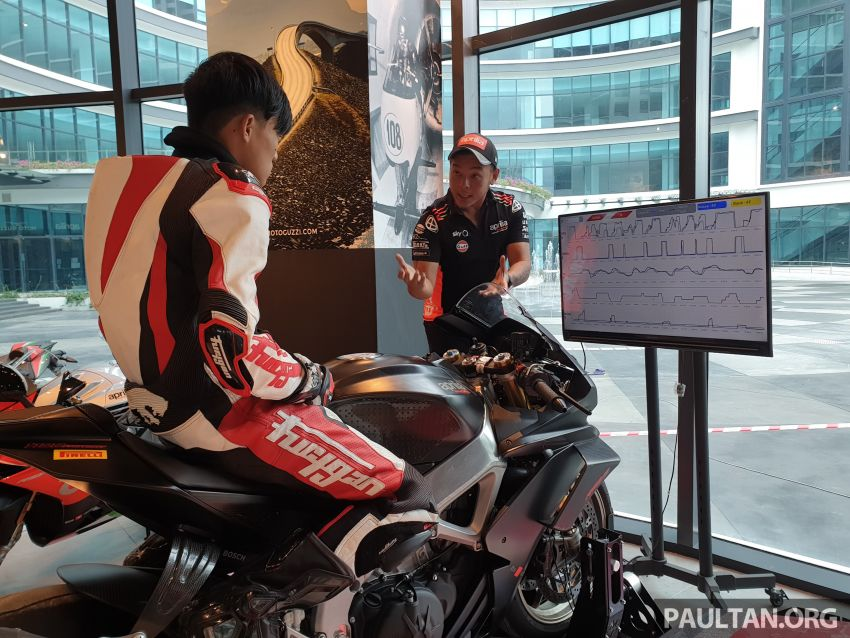 Aprilia Moto Trainer now in Motoplex Malaysia – ride any racetrack in the ultimate motorcycle video game Image #1251239