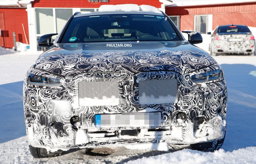 SPYSHOTS: G02 BMW X4 LCI in cold-weather testing Image #1252542