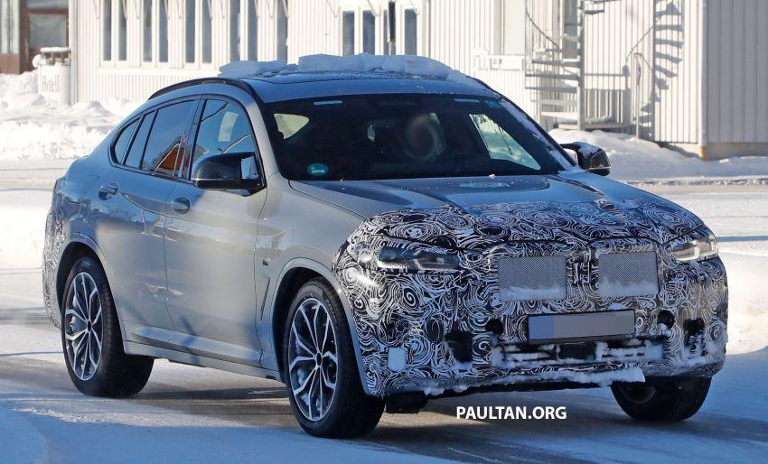SPYSHOTS: G02 BMW X4 LCI in cold-weather testing Image #1252553