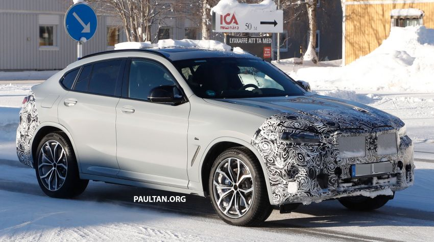 SPYSHOTS: G02 BMW X4 LCI in cold-weather testing Image #1252555