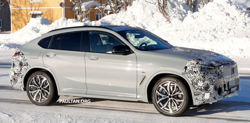 SPYSHOTS: G02 BMW X4 LCI in cold-weather testing Image #1252557