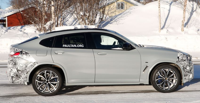 SPYSHOTS: G02 BMW X4 LCI in cold-weather testing Image #1252558