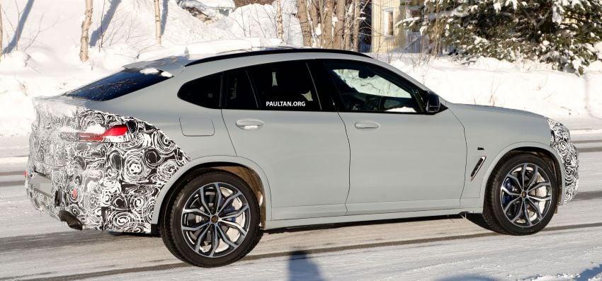 SPYSHOTS: G02 BMW X4 LCI in cold-weather testing Image #1252559