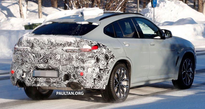 SPYSHOTS: G02 BMW X4 LCI in cold-weather testing Image #1252561