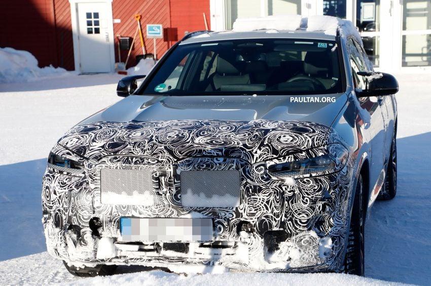 SPYSHOTS: G02 BMW X4 LCI in cold-weather testing Image #1252544