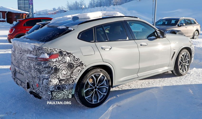 SPYSHOTS: G02 BMW X4 LCI in cold-weather testing Image #1252546