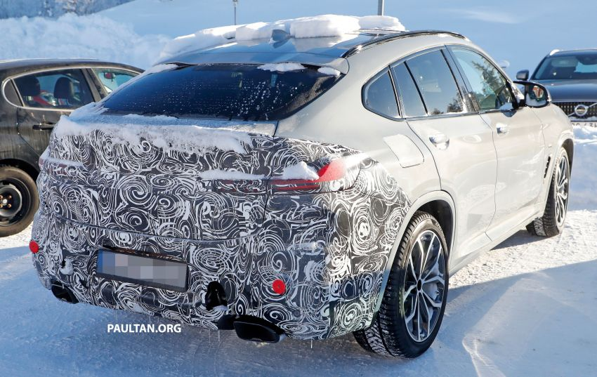 SPYSHOTS: G02 BMW X4 LCI in cold-weather testing Image #1252547