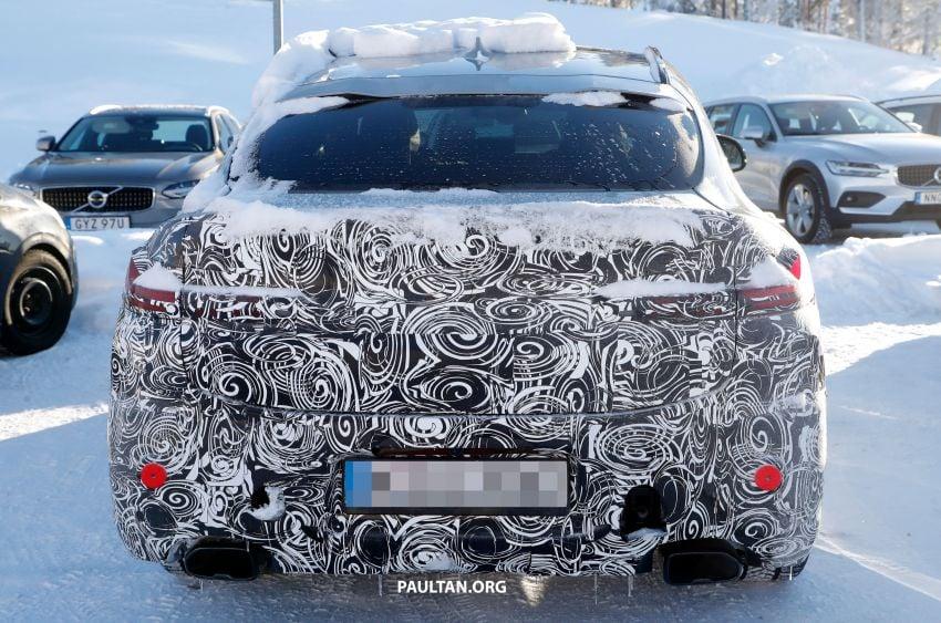 SPYSHOTS: G02 BMW X4 LCI in cold-weather testing Image #1252548