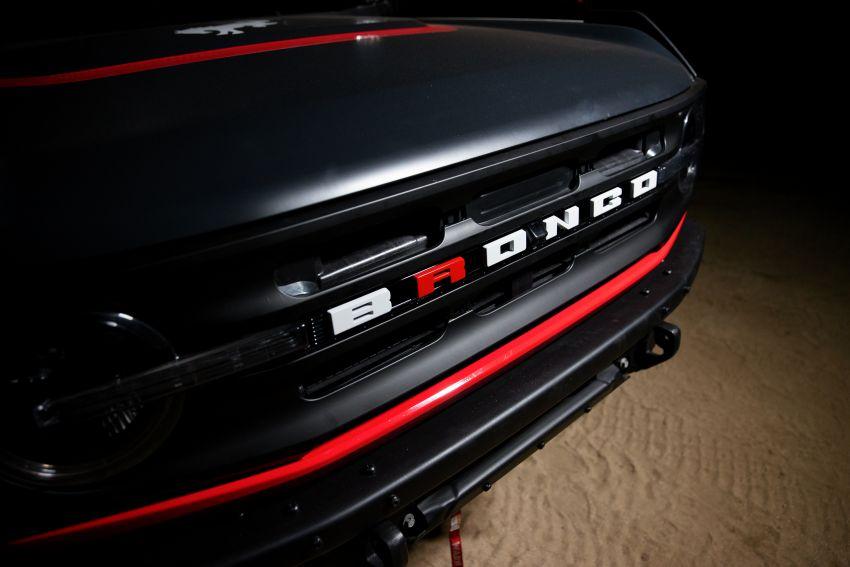 Ford dedahkan trak lumba Bronco 4600 kelas stock Image #1245683