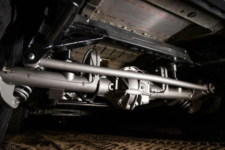 Ford dedahkan trak lumba Bronco 4600 kelas stock Image #1245689