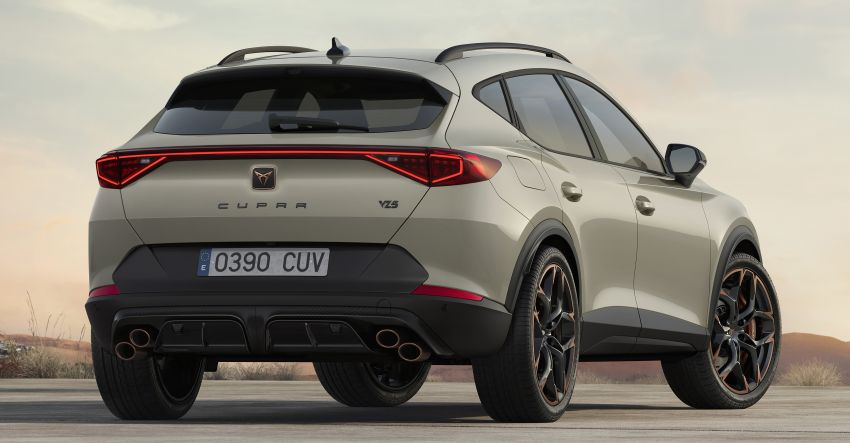 Cupra Formentor VZ5 – 390 PS/480 Nm, 7,000 units Image #1252078