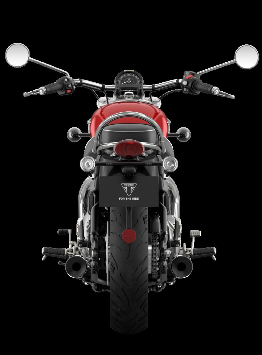 2021 Triumph Bonneville range gets model updates Image #1253187