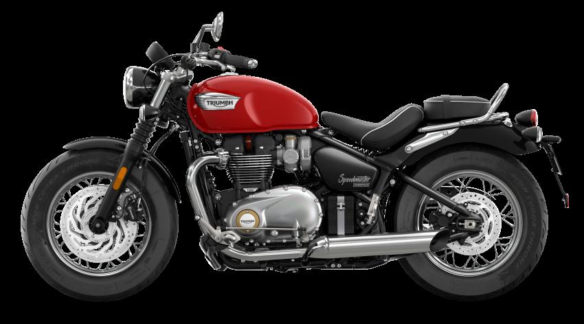 2021 Triumph Bonneville range gets model updates Image #1253189