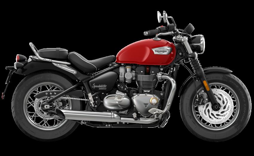 2021 Triumph Bonneville range gets model updates Image #1253190
