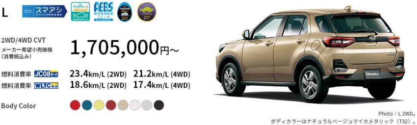 Perodua Ativa D55L – cheaper in Malaysia compared to the Daihatsu Rocky and Toyota Raize in Japan Image #1251371