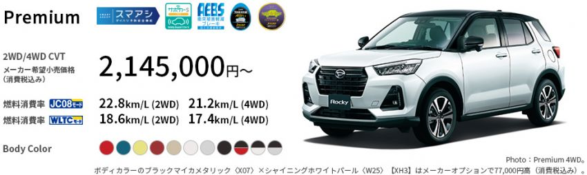 Perodua Ativa D55L – cheaper in Malaysia compared to the Daihatsu Rocky and Toyota Raize in Japan Image #1251372