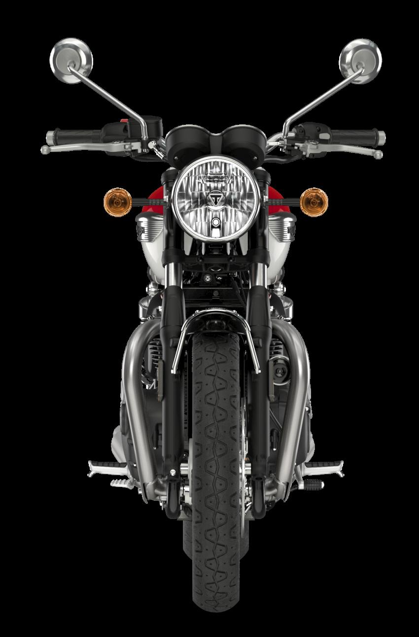 2021 Triumph Bonneville range gets model updates Image #1253116