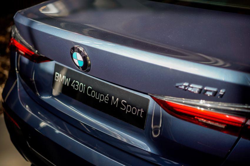 G22 BMW 430i Coupe M Sport in M'sia – from RM442k Image #1255450