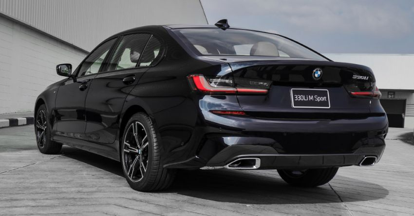 G28 BMW 3 Series Gran Sedan launched in Thailand – sole 330Li M Sport variant offered, priced at RM392k Image #1248269