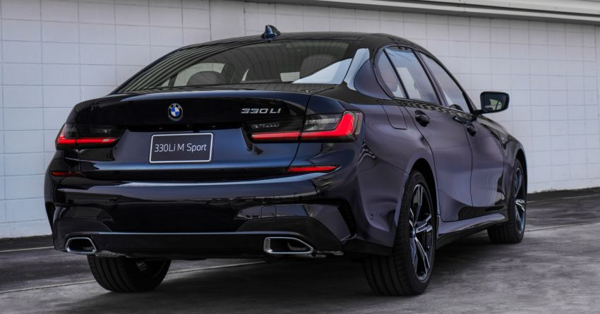 G28 BMW 3 Series Gran Sedan launched in Thailand – sole 330Li M Sport variant offered, priced at RM392k Image #1248273