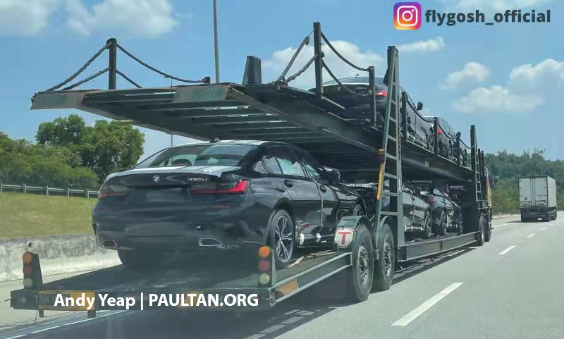 SPYSHOTS: G28 BMW 3 Series Gran Sedan spotted in Malaysia – CKD 330Li to be launched here soon? Image #1250406