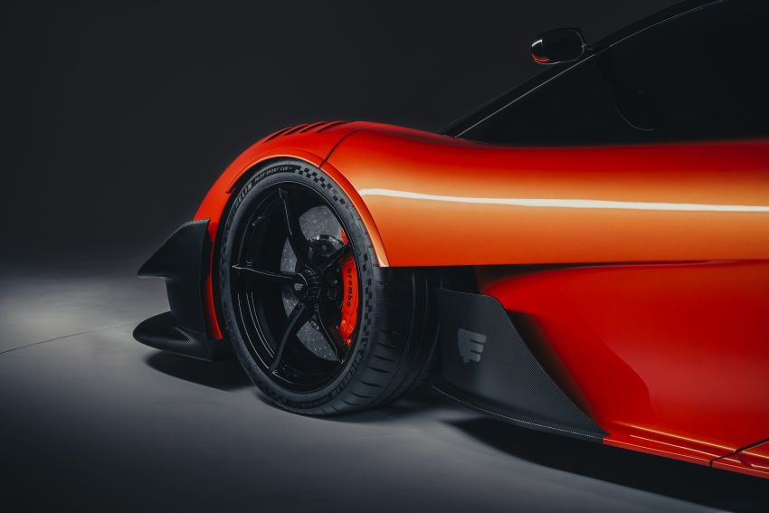 Gordon Murray Automotive T.50s Niki Lauda – 711 PS track monster with 1,500 kg downforce, 852 kg weight Image #1252254
