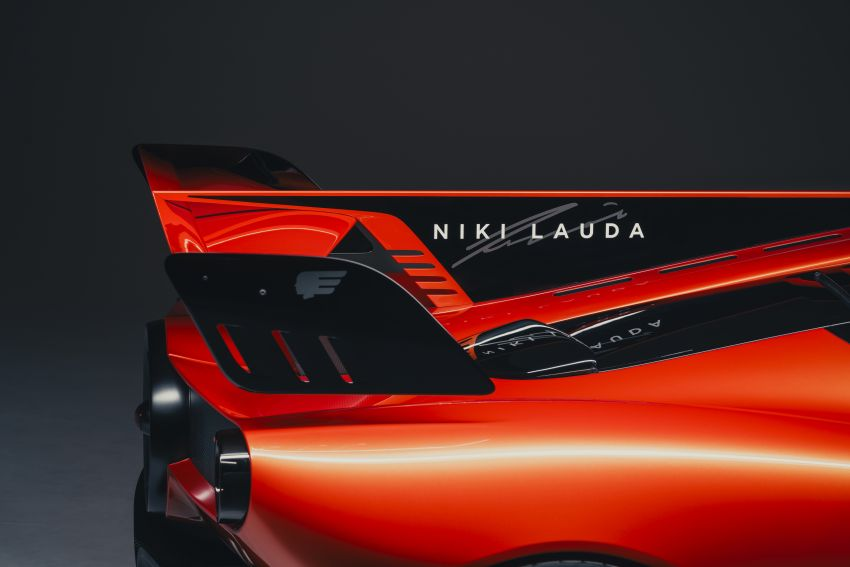 Gordon Murray Automotive T.50s Niki Lauda – 711 PS track monster with 1,500 kg downforce, 852 kg weight Image #1252265